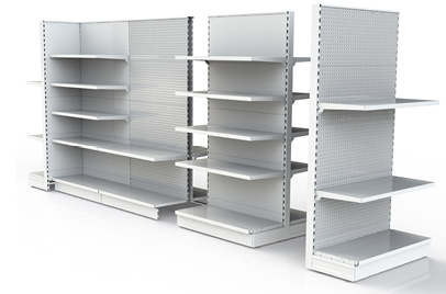Gondola Showroom Shelving