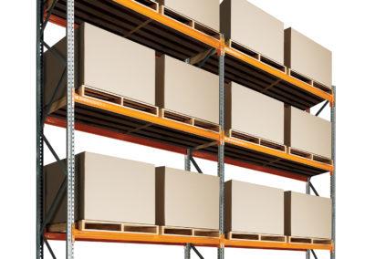 Dexion Speedlock 2 Bay 3 Shelves