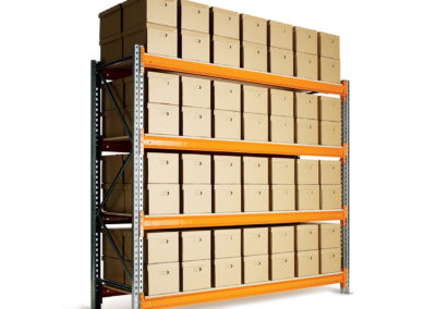 Dexion Speedlock racking with archive boxes