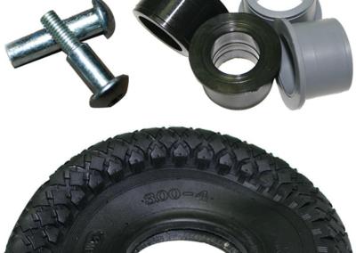 Castor accessories